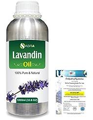 Lavandin 100% Natural Pure Essential Oil 1000ml/33.8fl.oz.