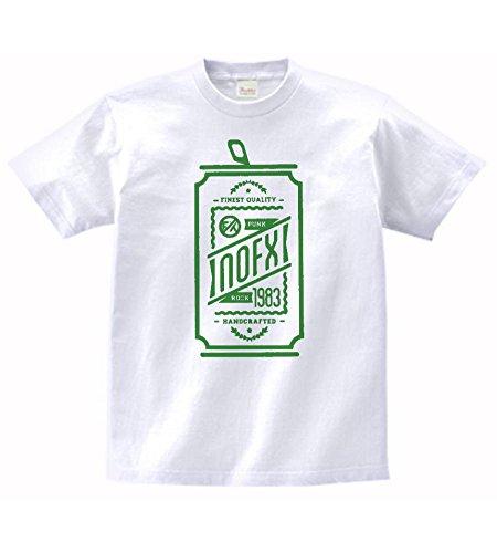【ノーブランド品】 音楽 バンド ロック NOFX Tシャツ 白 MLサイズ (L)