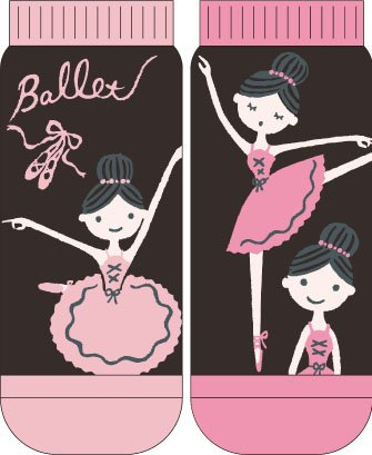Shinzi Katoh レディースソックス Ballet_lesson SKS2396