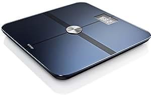 Withings 体重計 体組成計 スマート体重計 Body ブラック Wi-Fi/Bluetooth対応【日本正規代理店品】
