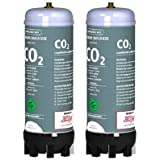 Zip 91295 Sparkling CO2 Cylinder - Twin Pack