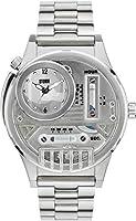嵐HYDROXIS Special Editionシルバーダイヤルメンズ腕時計