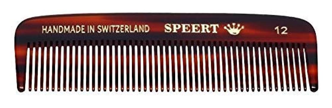 偽ホーンモスHand-made tortoise comb #12 by Speert [並行輸入品]