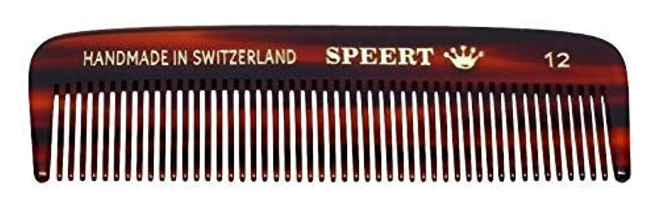 可塑性限界閉塞Hand-made tortoise comb #12 by Speert [並行輸入品]