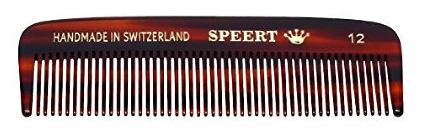 養うクロール可動Hand-made tortoise comb #12 by Speert [並行輸入品]