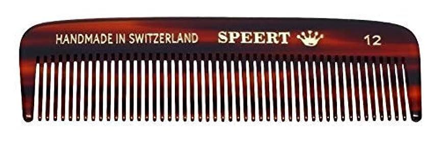 含む屋内で印をつけるHand-made tortoise comb #12 by Speert [並行輸入品]