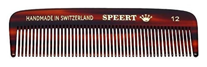 りんご時刻表ベッツィトロットウッドHand-made tortoise comb #12 by Speert [並行輸入品]
