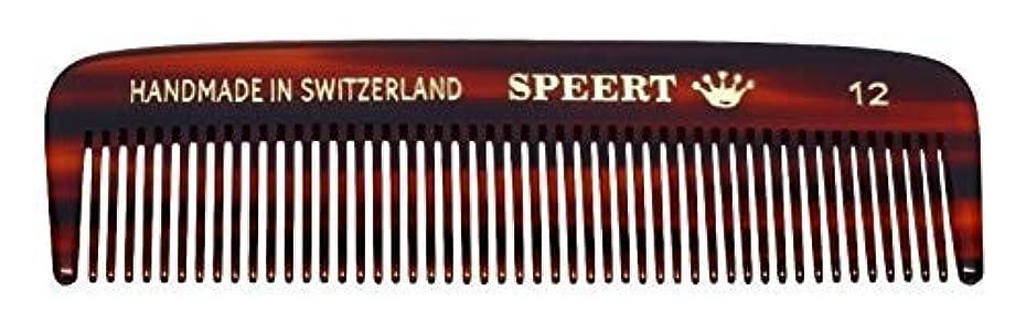 衝突雄弁なリハーサルHand-made tortoise comb #12 by Speert [並行輸入品]