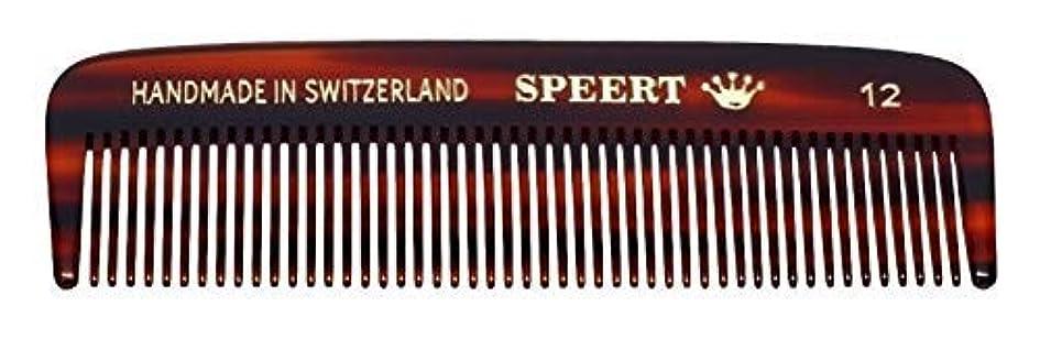 スタイル受賞バトルHand-made tortoise comb #12 by Speert [並行輸入品]