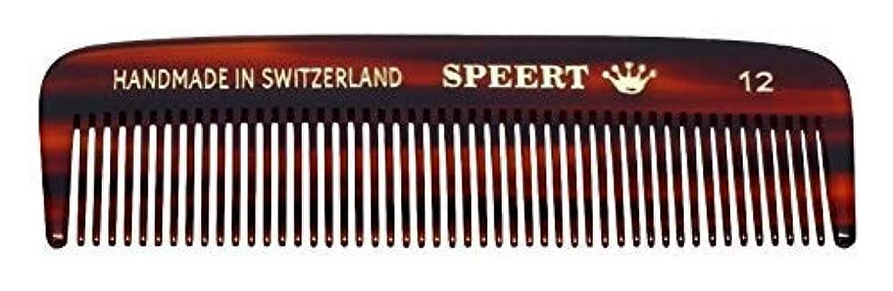 Hand-made tortoise comb #12 by Speert [並行輸入品]
