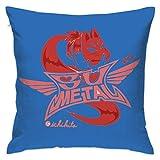 Babymetal ベビーメタル ロゴ クッションカバー 抱き枕カバー 45X45 おしゃれ 枕カバー 座布団 車やソファー用 枕カバー 部屋飾り