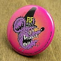 ラットフィンク(RAT FINK) 缶バッチ フェイスハット_BC-RA107FH-MON
