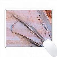 グレンキャニオンNRA、ユタ州 - 砂岩の壁の抽象的な反映。 PC Mouse Pad パソコン マウスパッド