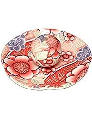 紅染 花形香皿 お香立て お香たて 日本製 ACSWEBSHOPオリジナル