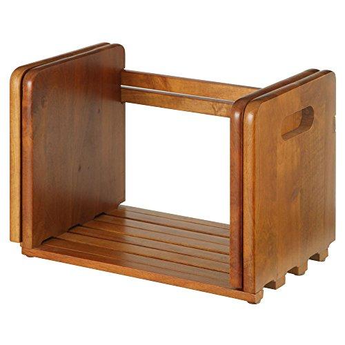 本立て ブックスタンド 卓上 本棚 木製 スライド式 伸縮 ...