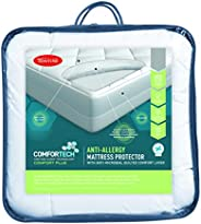 Tontine T6140 Comfortech Anti Allergy Mattress Protector, Queen Bed