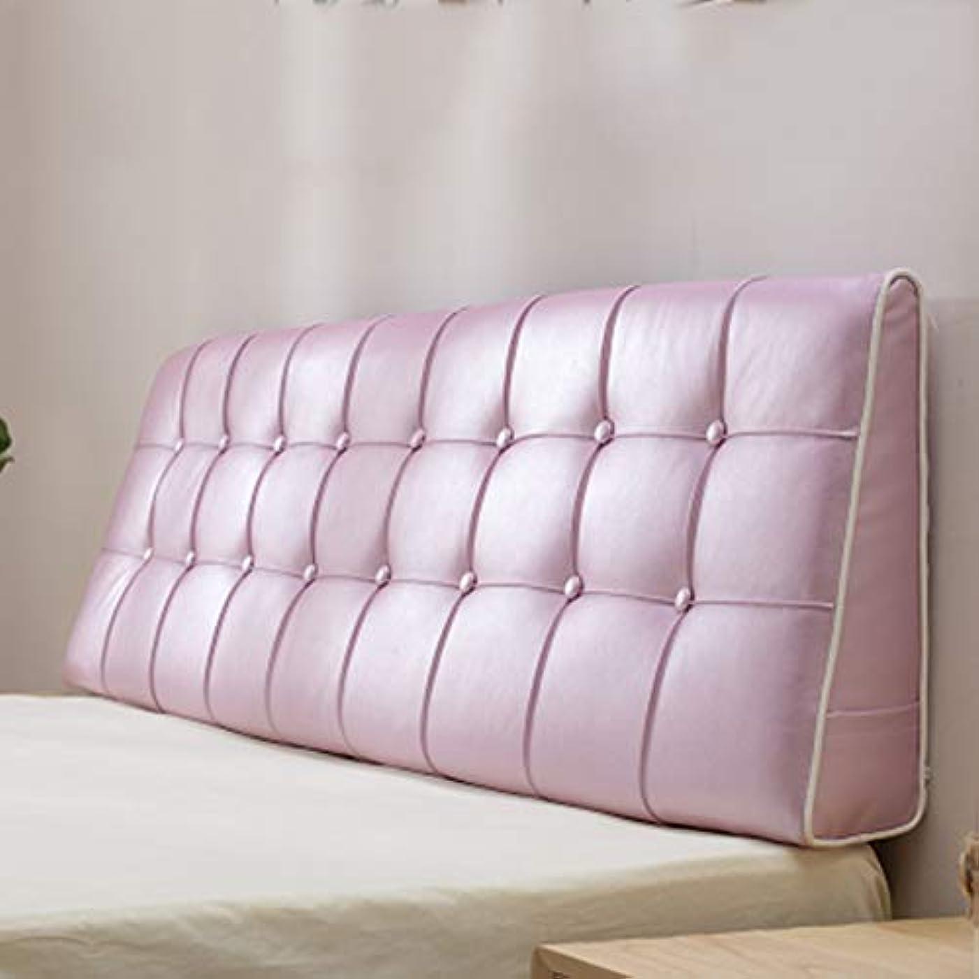 生息地勃起静かに枕ヘッドボード、枕ベッド、大型バックレザー、ノーベッド、柔らかいクッション、シンプルなベッドカバー、3色、7サイズ,B,150*50cm