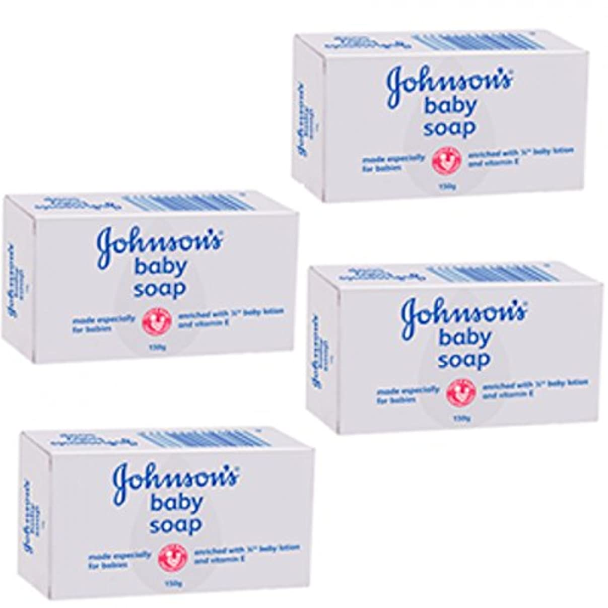 戸口経由でレモンJohnson's Baby White Bar Soap 75g.x 4 packs