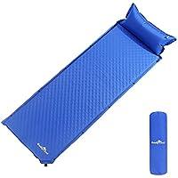 CamplandデフクラブパッドSleeping Pad Airキャンピングマット軽量with Pillow