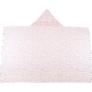 UCHINO Disney Baby bath collection プチフィールド フード付きバスタオル 70×112cm ピンク