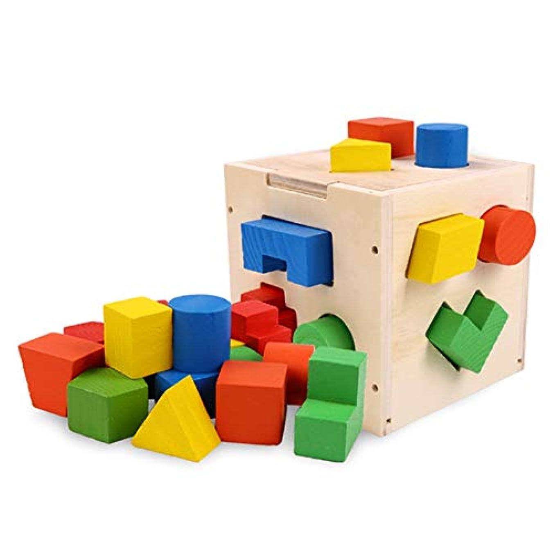 モニカスティック加速するPapiroom おもちゃ 子供 知育玩具 セット 木製 教育ボックス 人気 早期開発 誕生日 プレゼント 赤ちゃん おもちゃ アクティビティキューブ