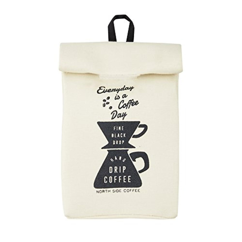 レジ袋ストッカー North Side Coffeeノースサイドコーヒー  アイボリー インターフォルム DS-2794IV DS-2794IV
