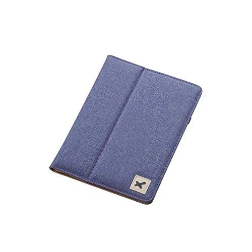 エレコム 7.0〜8.4インチ汎用タブレットケース ファブリック /ブルーTB-08FCHBU1個
