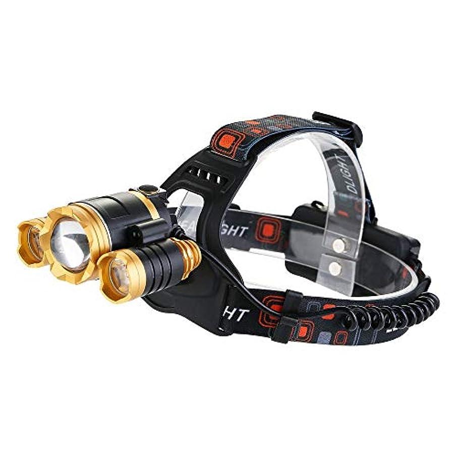 殺す主権者しみLED ヘッドライト CREE製 3灯式 30W 1500lm 赤外線スイッチ 手ぶら