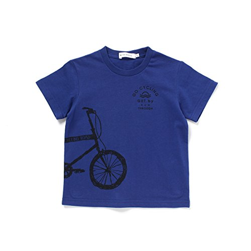 (ザ ショップ ティーケー) THE SHOP TK 【150cmまで】自転車プリントTシャツ 23812010 13(130cm) ブルー(092)