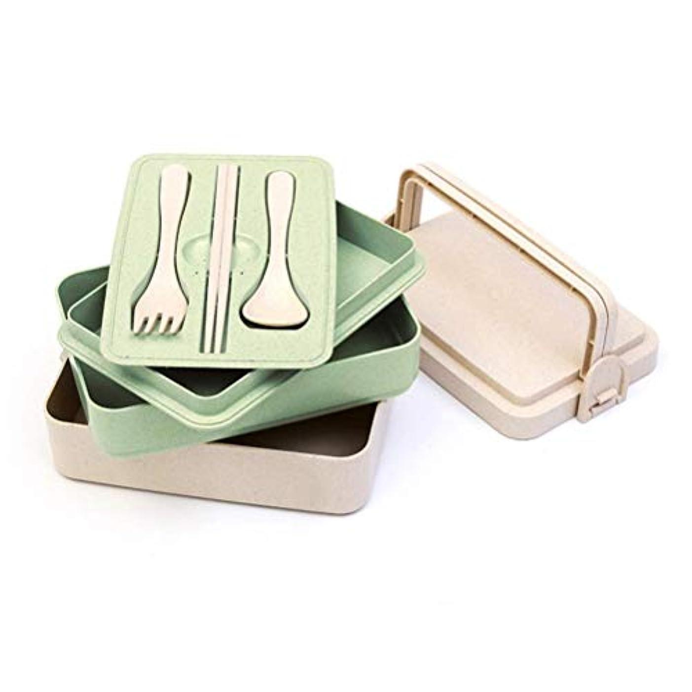シットコム彫刻家ポジションFOOD 3ピースカトラリーセット付き2コンパートメントハーメチックランチボックス - 安い、ディスカウント価格大人と子供に最適電子レンジと食器洗い機丈夫で健康的なデザイン