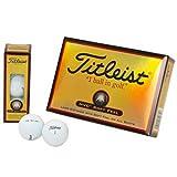 TITLEIST(タイトリスト) HVC SOFT FEEL ゴルフボール 12個 2ピース 飛距離&ソフトボール  1HVSF-J ホワイト