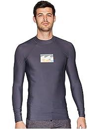 (ビラボン) Billabong メンズ 水着?ビーチウェア ラッシュガード All Day Wave Performance Fit Long Sleeve [並行輸入品]