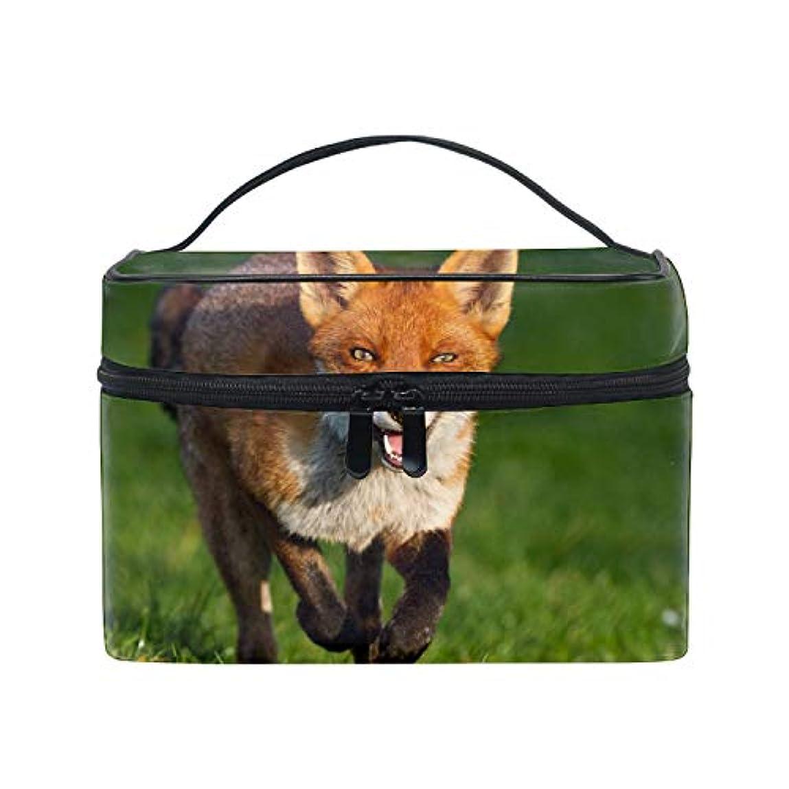 器用中絶平手打ちコスメポーチ 多機能収納ボックス 防水ケース 狐大容量 高品質 超軽量 旅行用