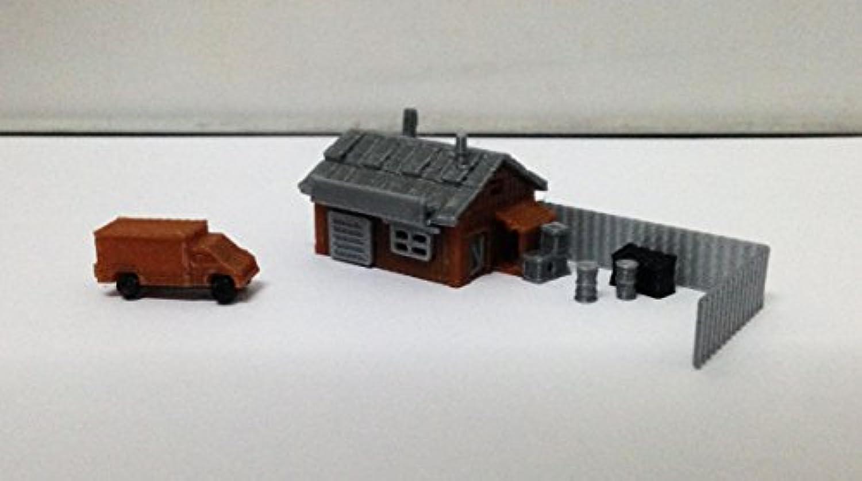 Outland Models Train Railroad Hardware Workshop / Parts Store Z Scale 1:220
