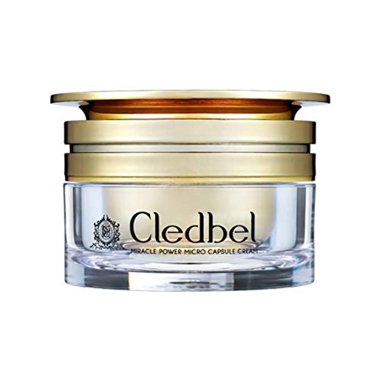 差し控えるホイットニー証拠[cledbel] Miracle Power Micro Capsule Cream 50ml / ミラクルパワーマイクロカプセルクリーム 50ml [並行輸入品]
