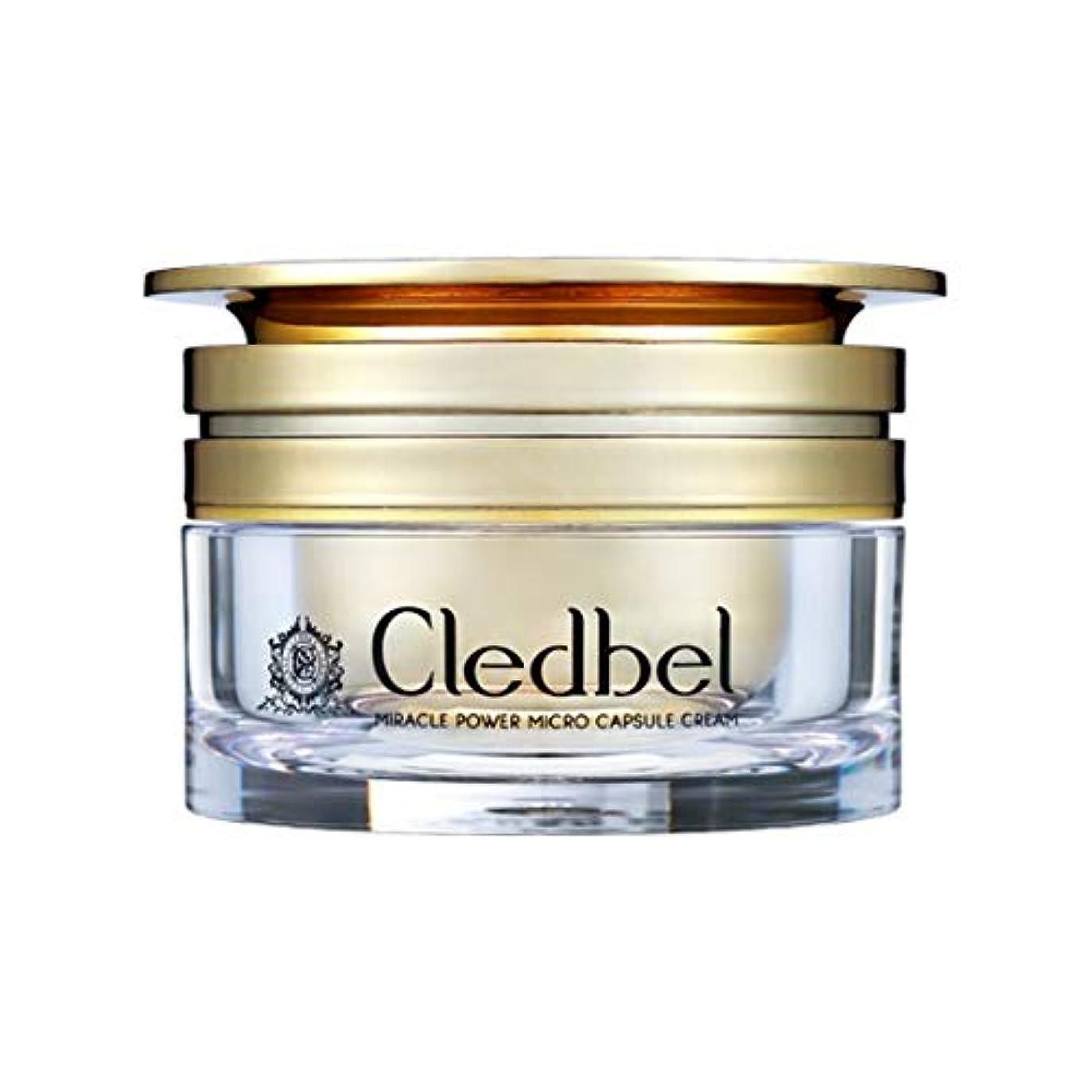 嫌い貢献する装置[cledbel] Miracle Power Micro Capsule Cream 50ml / ミラクルパワーマイクロカプセルクリーム 50ml [並行輸入品]