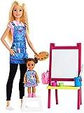 バービー おしごとあそび バービーとおしごと!アートのせんせいセット GJM29 着せ替え人形 お世話セット