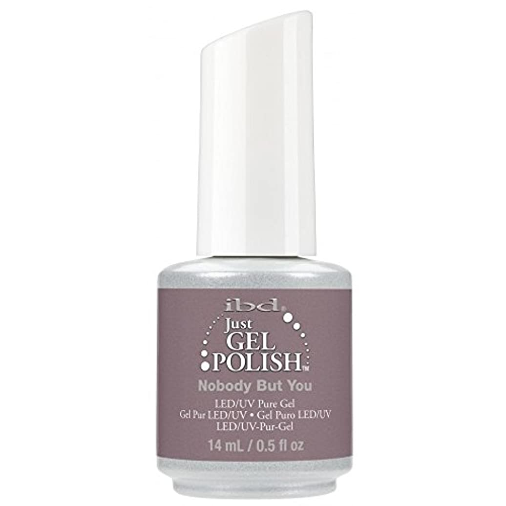 またね苦難航海のibd Just Gel Nail Polish - 2017 Nude Collection - Nobody but You - 14ml / 0.5oz