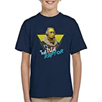Cloud City 7 Fortnite Retro Raptor Kid's T-Shirt