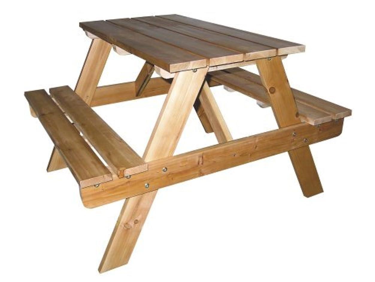 または米国実質的ORE International Kids' Indoor/Outdoor Picnic Table [並行輸入品]
