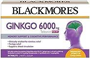 Blackmores Ginkgo 6000mg Tebonin (30 Tablets)