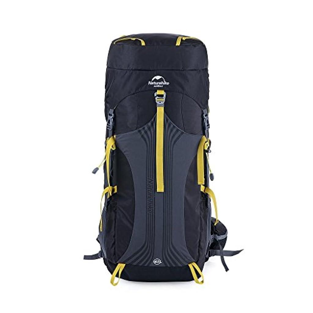瞑想的はしご欠員NatureHike 大型55L / 65L屋外防水ハイキングバックパックキャンプバッグの荷物
