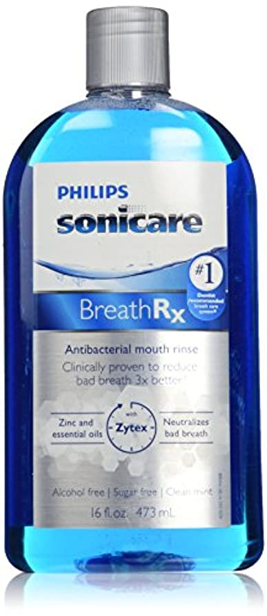 写真撮影祝福寺院Philips Sonicare Breathrx Antibacterial Mouth Rinse by Philips Sonicare [並行輸入品]