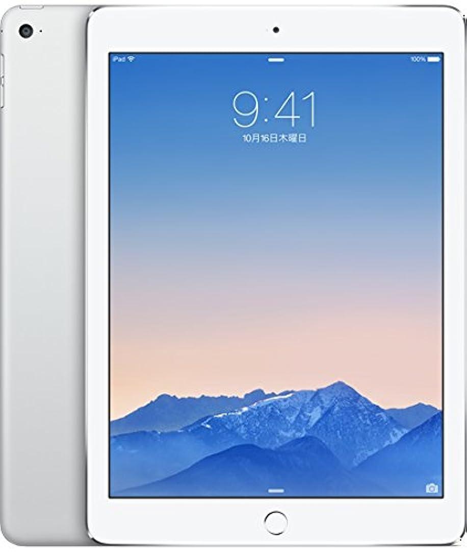 発動機窓ネクタイアップル iPad Air 2 Wi-Fi + Cellular 64GB シルバー(NTT docomo)