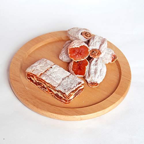 南信州ここだに 市田柿 南信州産 干し柿 170g & 市田柿ミルフィーユ チーズ (1袋ずつ)