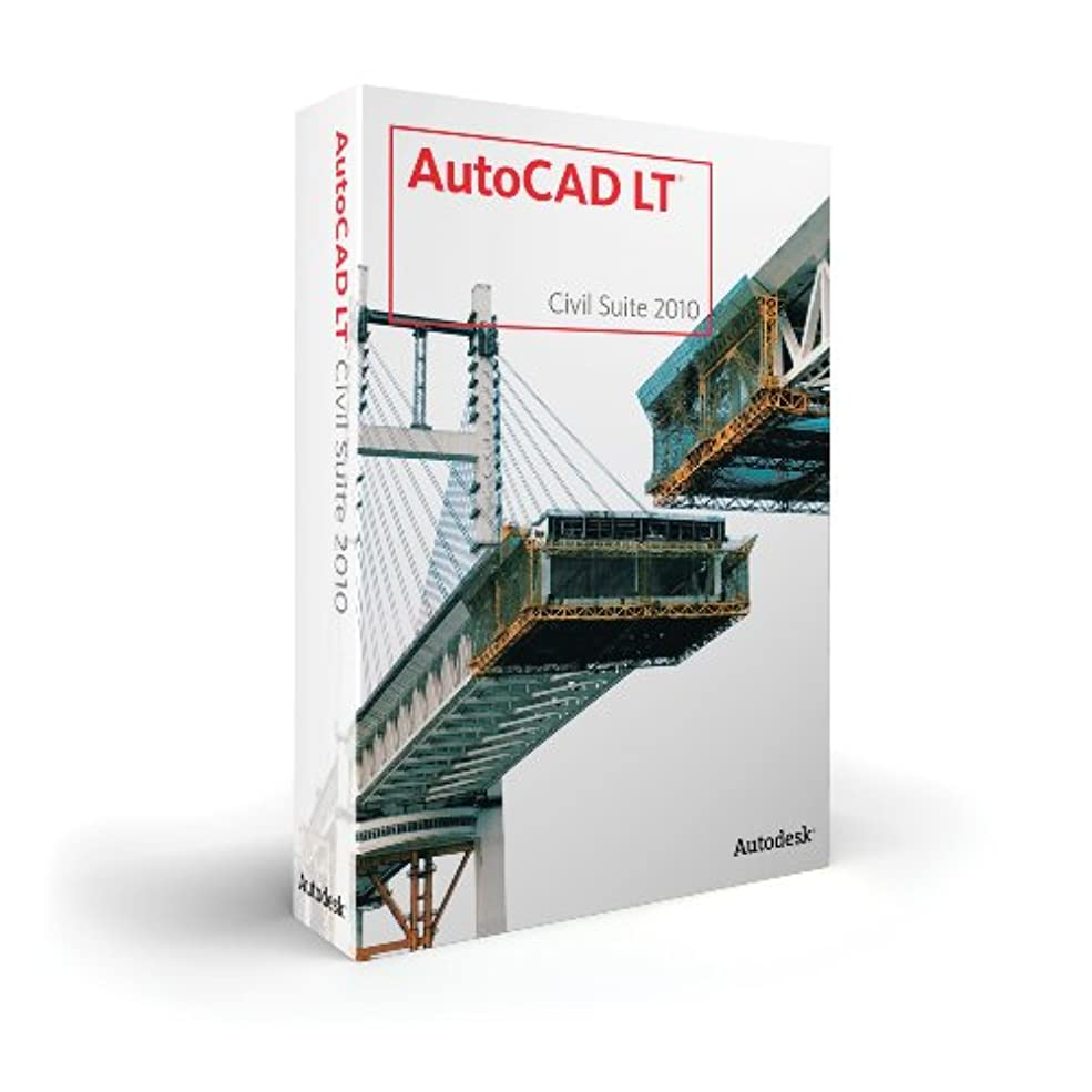 不毛の失望させるロードブロッキングAutoCAD LT Civil Suite 2010 Commercial New SLM