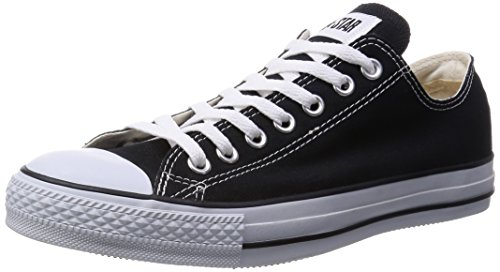 [コンバース] CONVERSE CANVAS ALL STAR OX  BLACK (ブラック/US5.5(24.5cm))