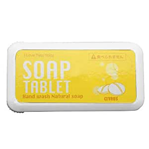 SOAP TABLET ソープタブレット (携帯用石鹸) ワンサイズ イエロー/シトラス