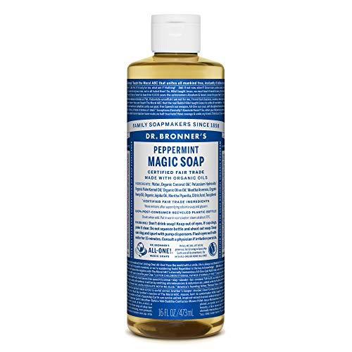 ドクターブロナー マジックソープ(magic soap) ペパーミント 473ml ネイチャーズウェイ