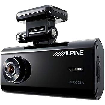 ALPINE(アルパイン) フロント/ルームカメラ内臓 2カメラドライブレコーダー DVR-C02W